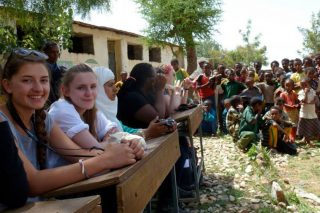 Building a school library in Tanzania