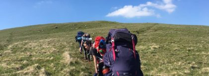 Outdoor education prepares pupils for GCSEs